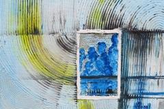 Nr. 331, Blick durch das Fenster, 50x50