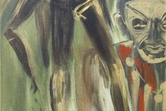Nr. 328, Nuba Tanz, 40x120