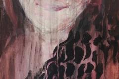 Nr. 332, Selbstportrait, 40x100