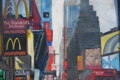 "Nr. 525, Oelmalerei ""New York"""