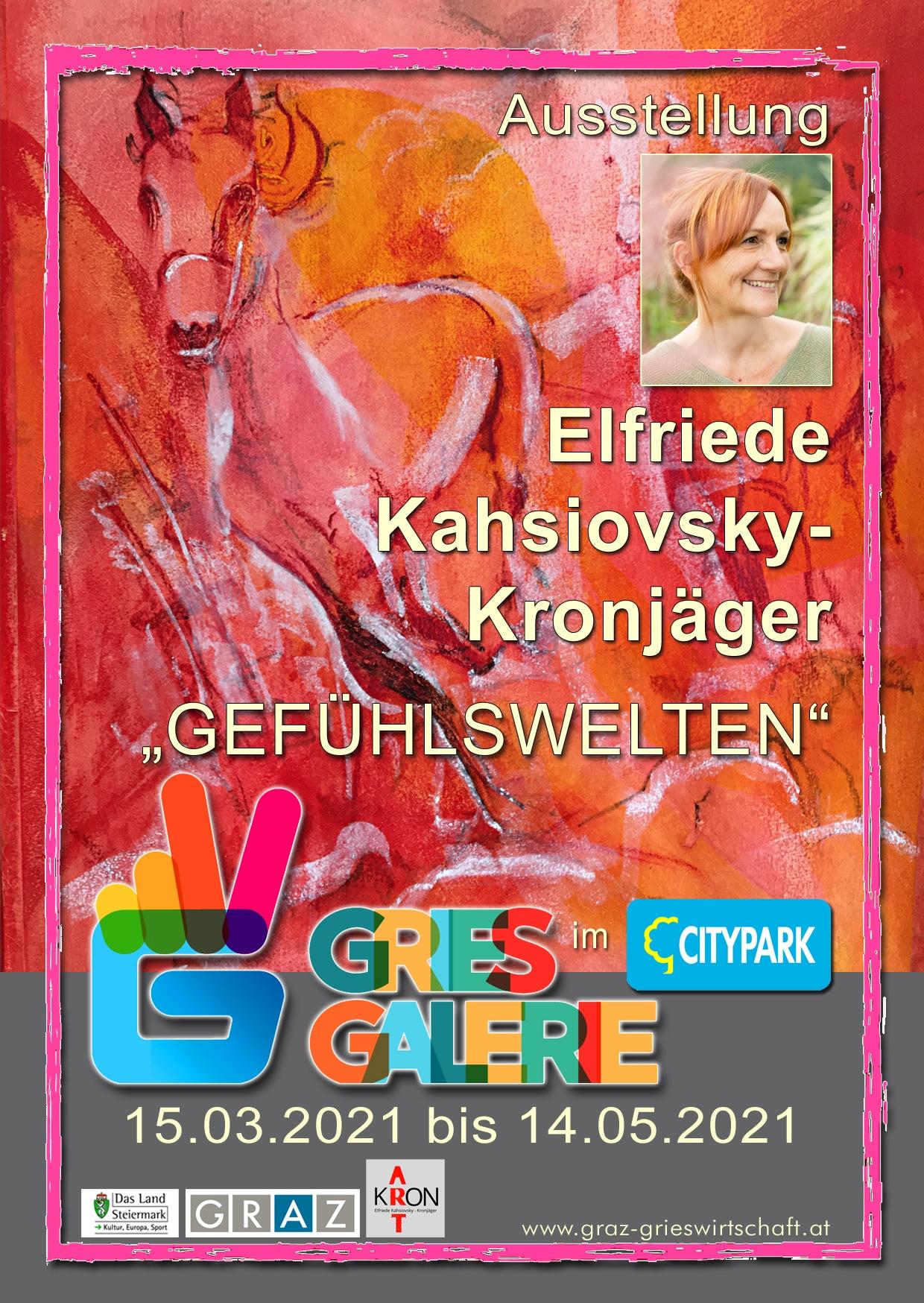 """Ausstellung """"Gefühlswelten"""" direkt im Shoppingcenter – Citypark Graz."""
